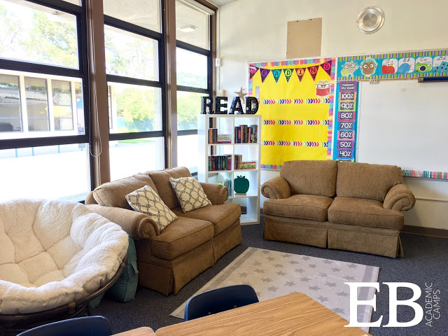 A Middle School Classroom Library - tips and tricks to create your own efficient and cute classroom library!