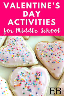 Fun and easy Valentine's Day Activity for your Middle School classroom! The perfect way to celebrate the holiday with your students! This easy and delicious Valentine's Day cookie recipe is sure to get your students in the spirit!