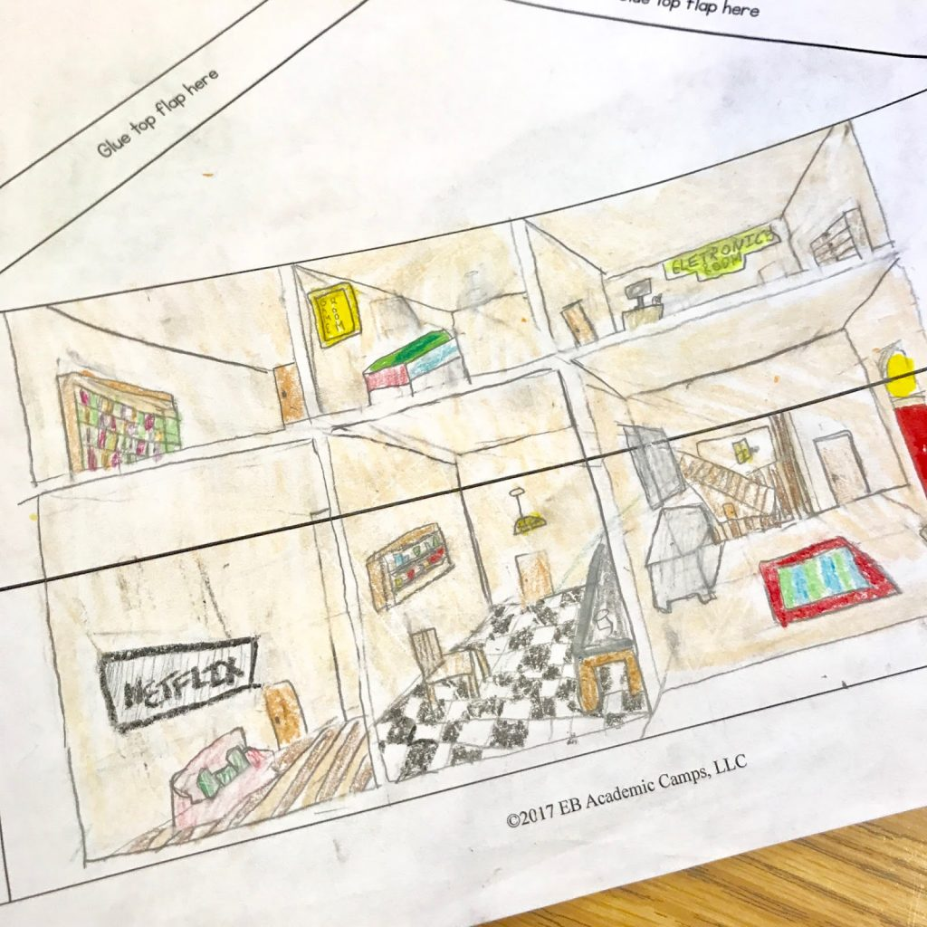 An end of the year / spring descriptive writing activity that is fun, challenging, and engaging for your middle school students! Students will create their own dream house - including a detailed real estate flyer and a detailed picture of the interior and exterior of their home!