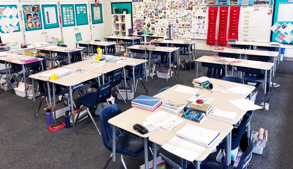 Flexible seating in middle school - a semi-flexible approach!