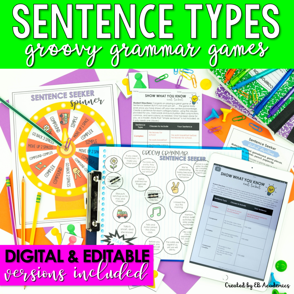 Groovy Grammar Games