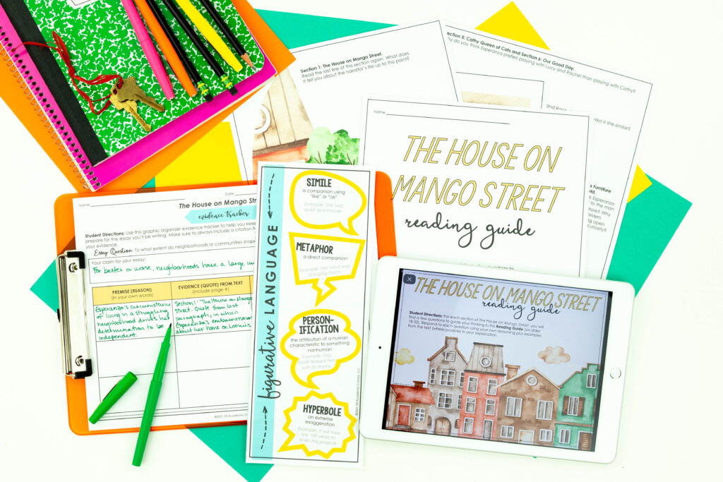 Create fun anticipation stations to use with your next novel study.