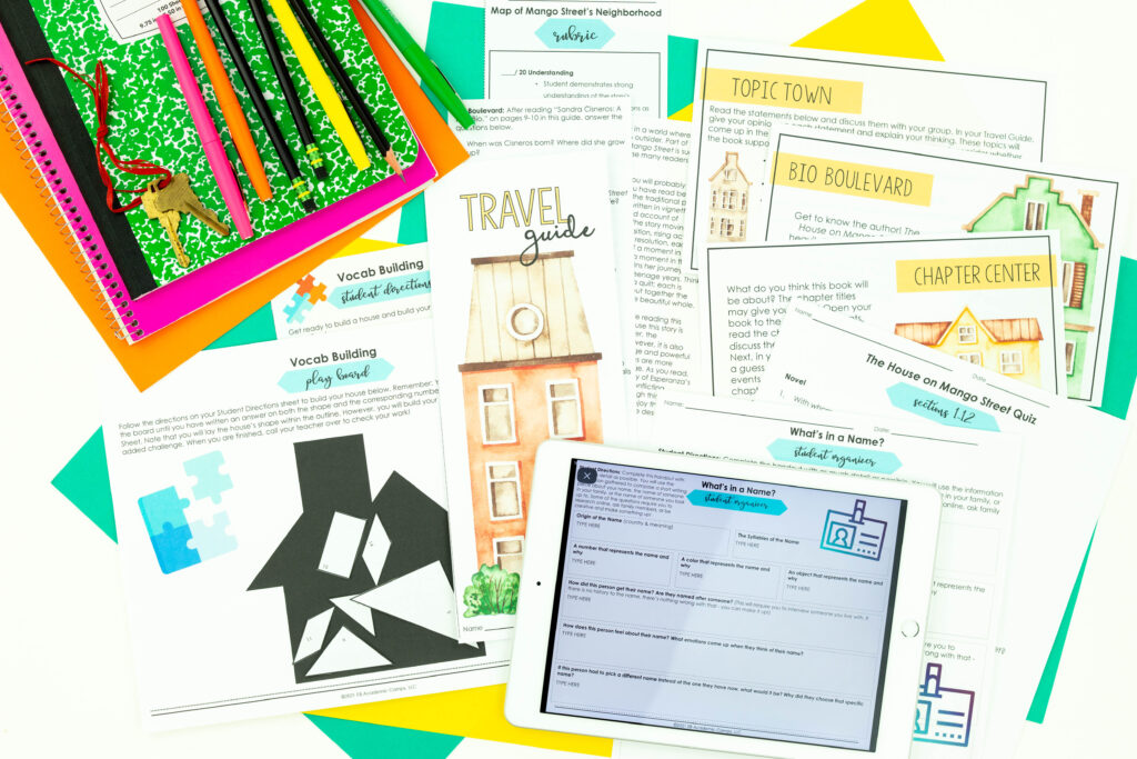 Use these fun anticipation ideas to teach novels and short story units.