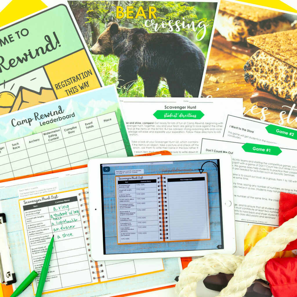 Learn about this awesome ELA skills review game!