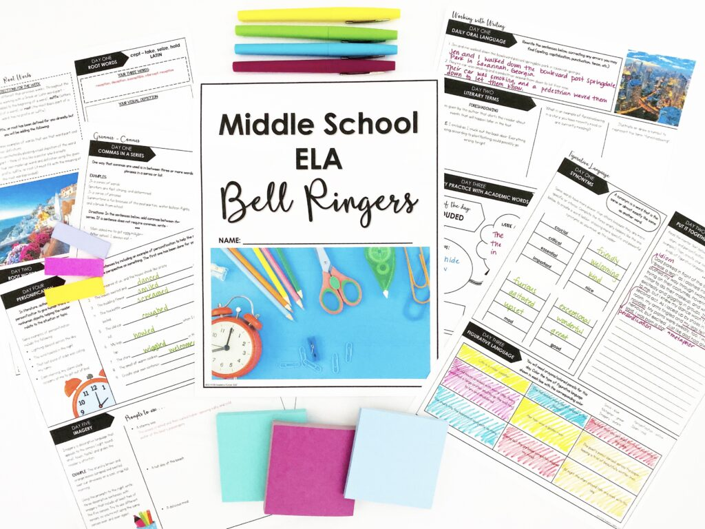 Use Bell Ringers as an effective classroom management tool.